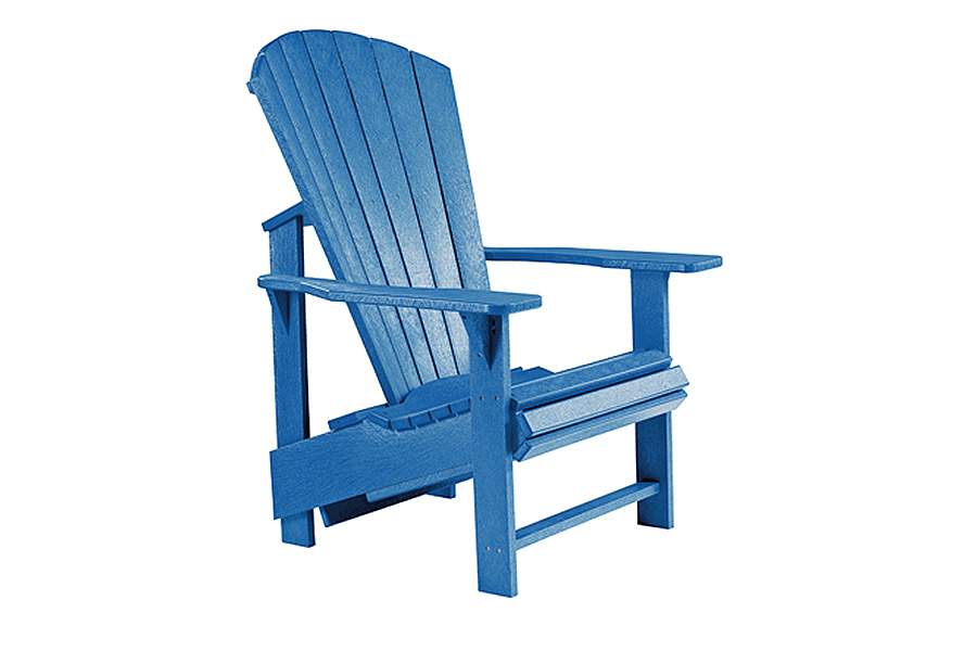 Regular Chair u2013 Blue  sc 1 st  Pioneer Family Pools & Adirondack Patio Collection - Paradigm Pools u0026 Spas