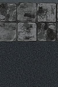 GLI Maple Leaf Bordered Liner Black Granite With Black Onyx