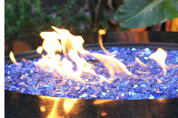 Features+. Tempered Fire Glass Crystals ... - Fire Pit Glass Crystals-Fire Pit Accessory- Paradigm Pools & Spas